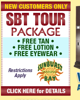 Special Coupon for Sunburst Bay Tanning!